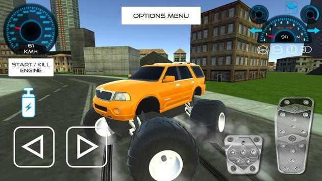Big Wheeled Monsters apk screenshot