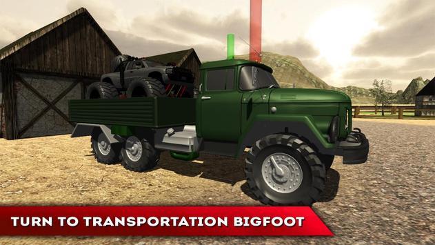 Bigfoot Truck Transporter PRO apk screenshot