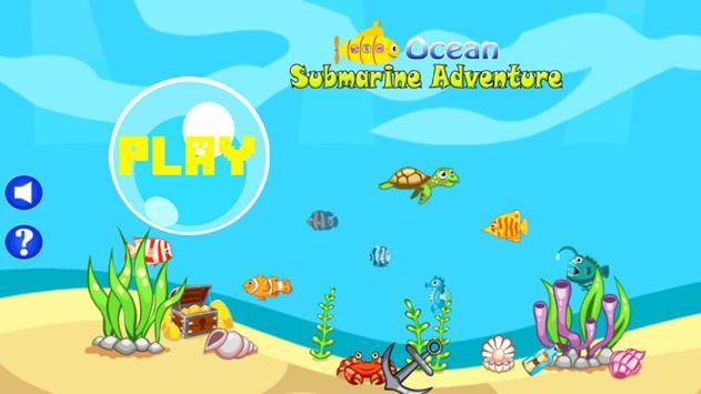 Ocean Submarine Adventure poster