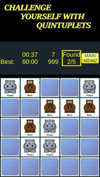 Pairs & More Memory Matching Game capture d'écran 3