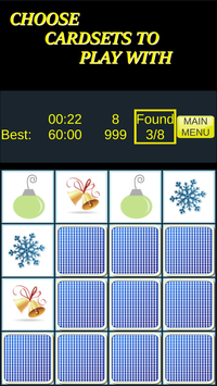 Pairs & More Memory Matching Game screenshot 5