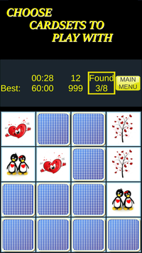 Pairs & More Memory Matching Game screenshot 6