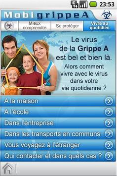MobiGrippeA apk screenshot