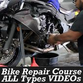 Bike Repairing Course in Hindi VIDEOs App icon