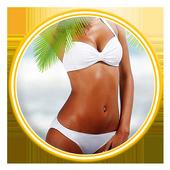 Bikini Suit Photo Montage 2017 icon