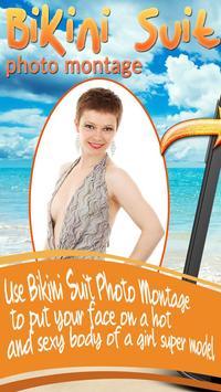 Bikini Suit Photo Montage 2016 poster