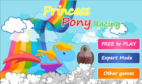 Princess Pony Sky Racing poster