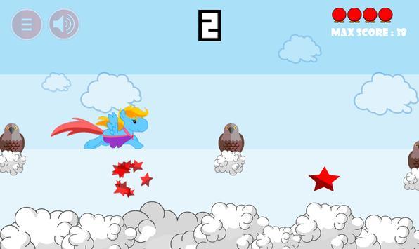 Princess Pony Sky Racing screenshot 1