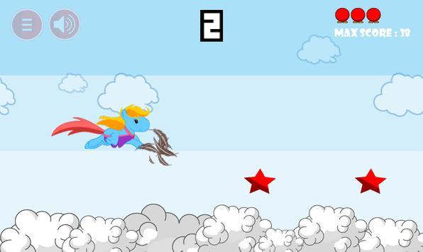 Princess Pony Sky Racing screenshot 2