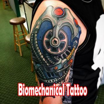 Biomechanical Tattoo Design poster