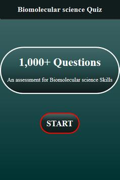 Biomolecular Science Quiz screenshot 1