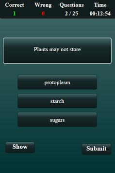 Biomolecular Science Quiz screenshot 3