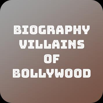 Biography Villains Of Bollywood poster