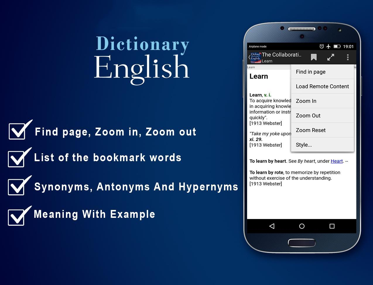 Free Collins English Dictionary for Android - APK Download