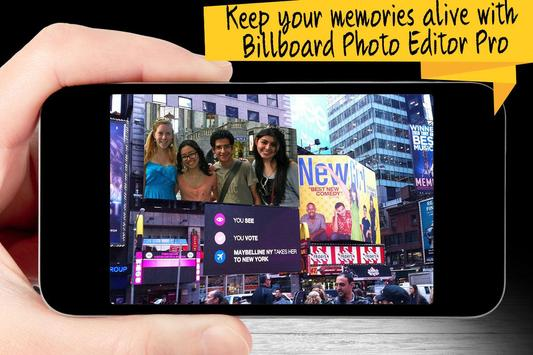 Billboard Photo Editor Pro apk screenshot