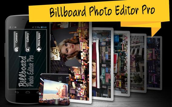 Billboard Photo Editor Pro poster