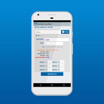 Mobarch - Saha Satış (Demo) screenshot 2