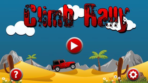 Climb Rally poster