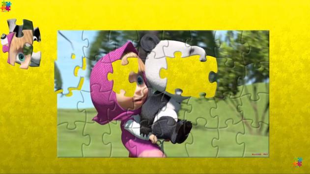 Masha Puzzle App with Bear screenshot 6