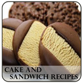 Cake And Sandwich Recipes icon