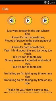 Twenty One Pilots Lyrics apk screenshot
