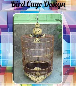 Bird Cage Design poster