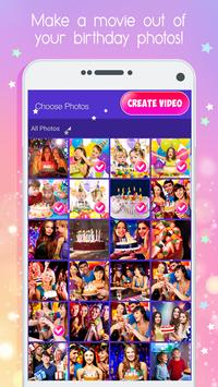 Birthday Slideshow And Video Maker With Music poster