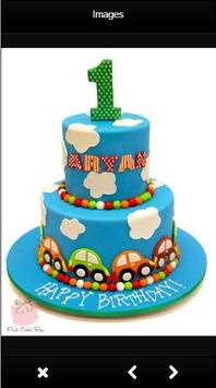1st Birthday Cake Design poster