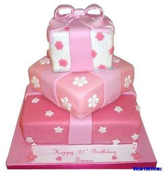 Birthday Cake Decoration poster