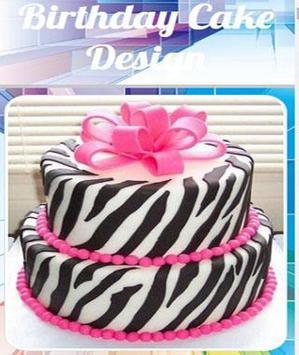 Birthday Cake Design poster