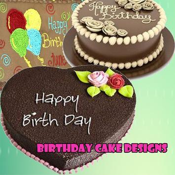Birthday Cake Designs poster