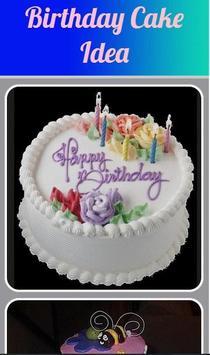 Birthday Cake Idea poster