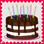 birthday greetings for kids icon