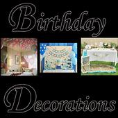 birthday decorations icon