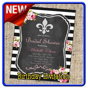Birthday Invitation Maker poster