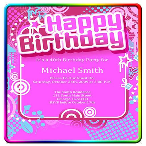Pleasant Birthday Invitation Card Example For Android Apk Download Funny Birthday Cards Online Elaedamsfinfo