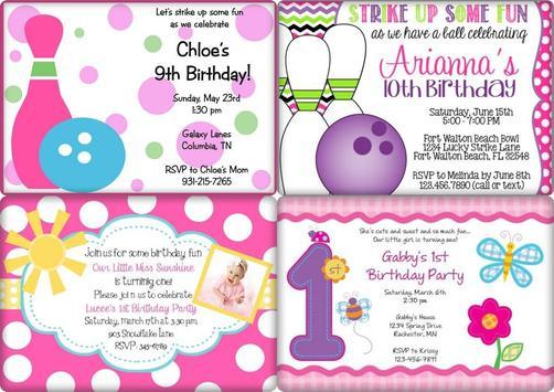Birthday Invitation Card Ideas Screenshot 6