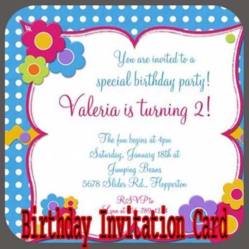 Urodziny Zaproszenie Card Maker For Android Apk Download