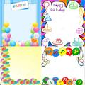 Birthday Invitation Frames