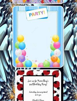 Birthday invitation frames apk download free art design app birthday invitation frames apk screenshot stopboris Gallery