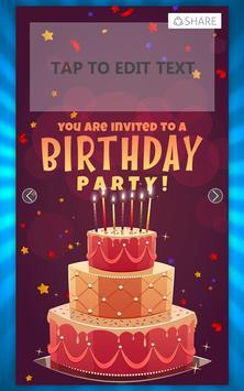 Birthday invitation card maker apk download free photography app birthday invitation card maker poster birthday invitation card maker apk screenshot stopboris Gallery