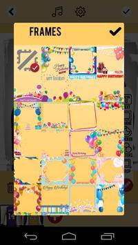 Birthday Slideshow with Music apk screenshot