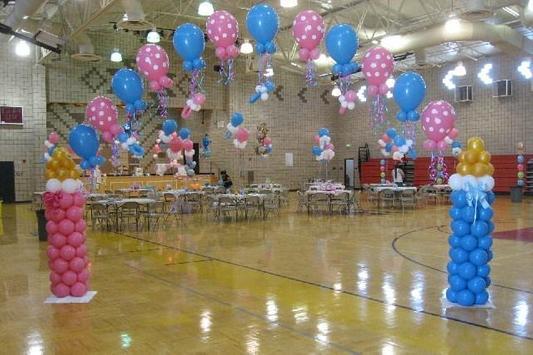 Birthday Party Balloon Ideas poster