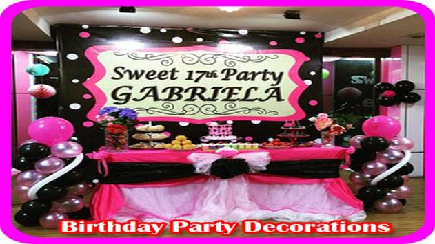 Birthday Party Decorations screenshot 7