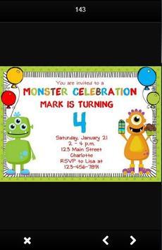 Birthday Party Invitation Card screenshot 5