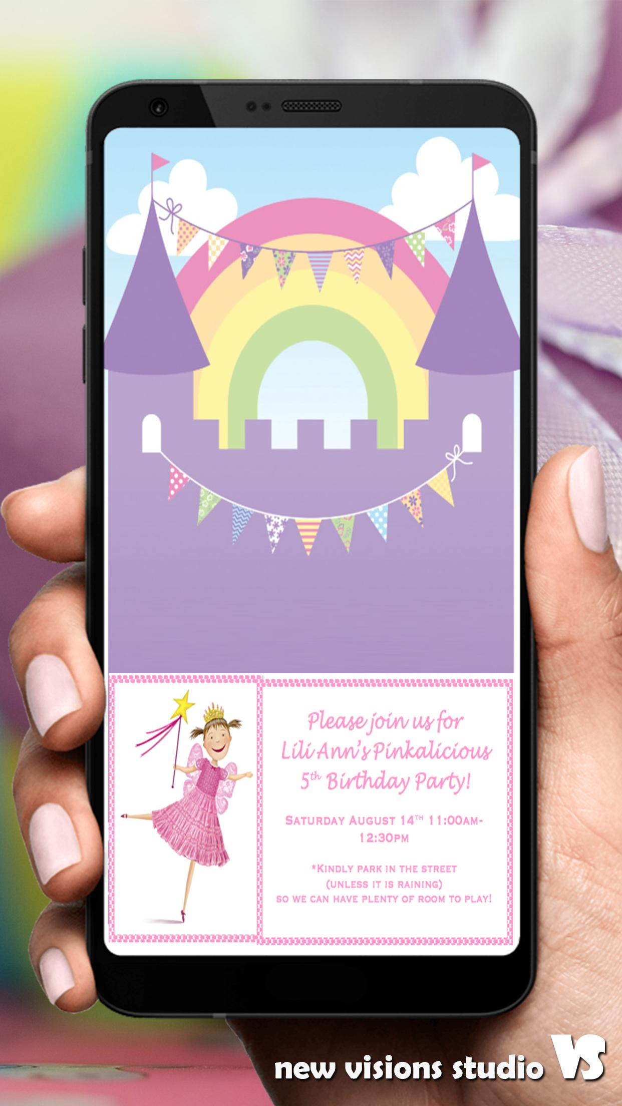 Birthday Party Invitation Cards App For Android