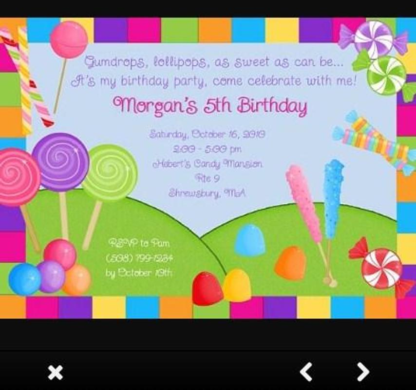 Birthday party invitation ideas apk download free art design app birthday party invitation ideas apk screenshot stopboris Choice Image
