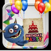 Birthday Party Invitations icon