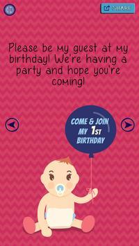 Birthday Party Invitations screenshot 3