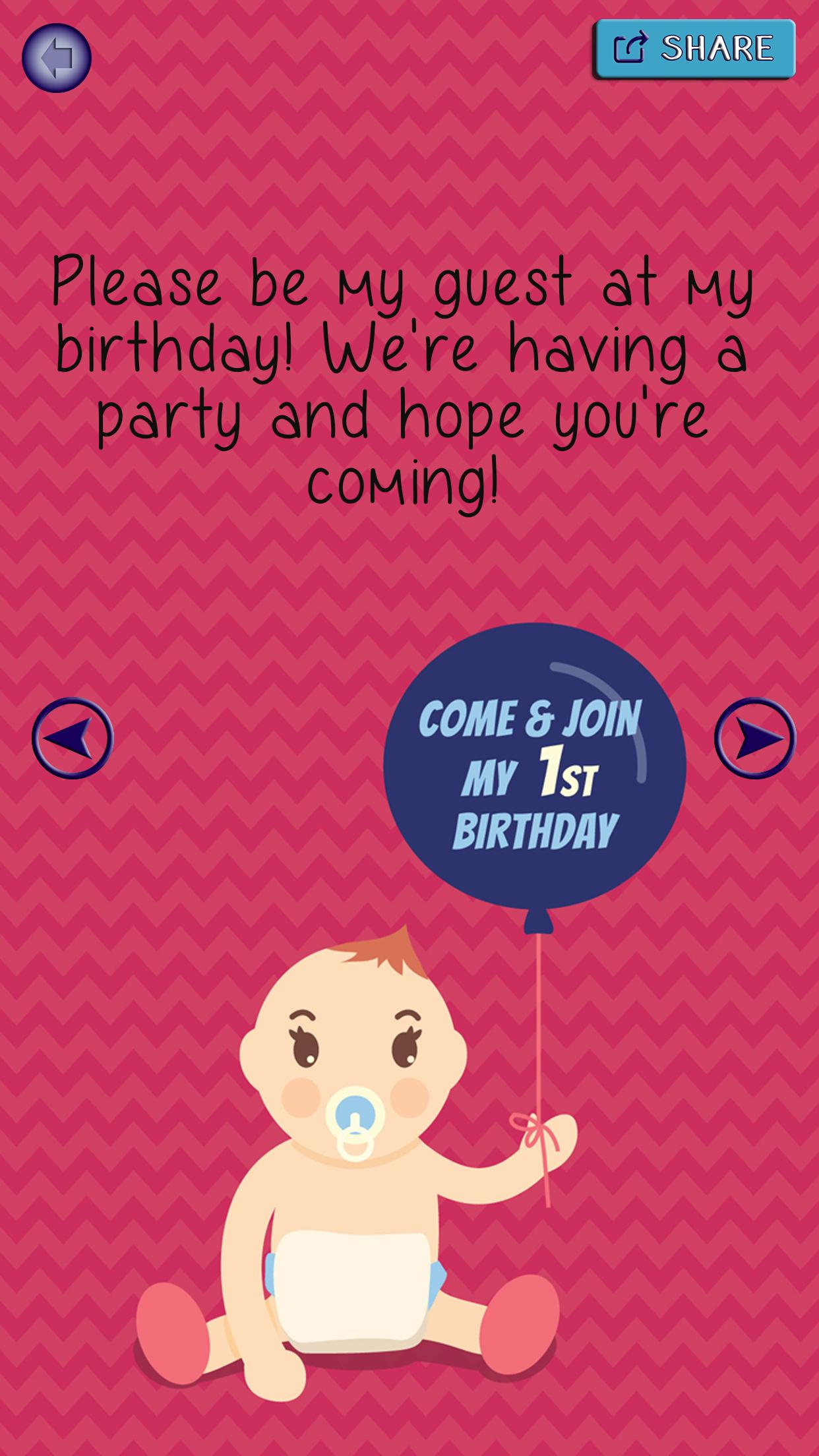 Birthday Party Invitations Invitation Card Maker For